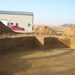 Excavation of Basement