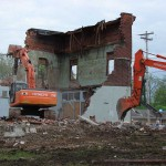 Commercial Building Demolition in Cynthiana, Indiana